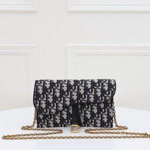 Dior Oblique wallet On Cha329633